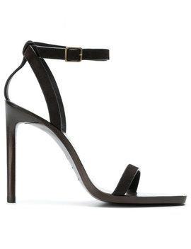Saint Laurentcut Out Detail Sandals by Saint Laurent