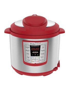Instant Pot Lux 6 Qt Red 6 In 1 Muti Use Programmable Pressure Cooker, Slow Cooker, Rice Cooker, Sauté, Steamer, And Warmer by Instant Pot