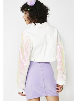 Wild In Wonderland Sequin Jacket by Wild Honey
