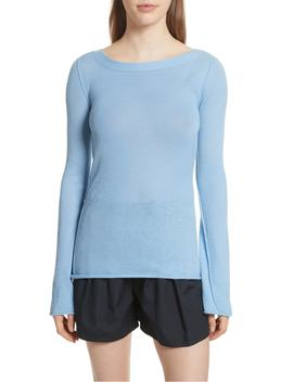 Cashmere V Back Cashmere Sweater by Vince