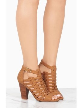 Vacate   Tan by Lola Shoetique