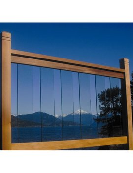 Bw Creative Clearview Deck Railing by Bw Creative