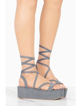 I'm Yours   Grey by Lola Shoetique
