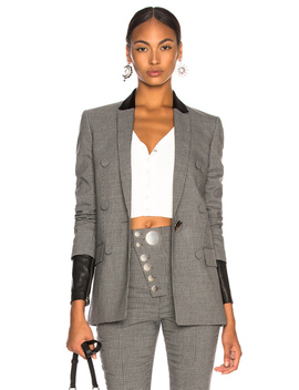 Double Breasted Notch Blazer by Alexander Wang