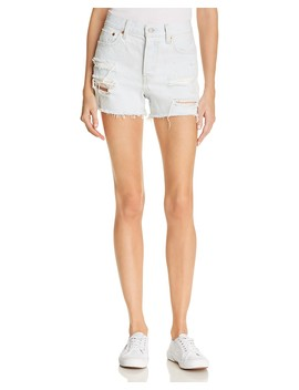 Wedgie Denim Shorts In Thin Ice   100 Percents Exclusive by Levi's