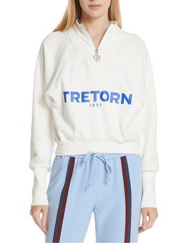 Graphic Half Zip Pullover by Tretorn