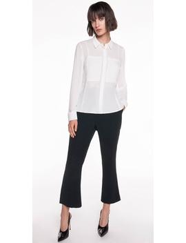 Georgette Pocket Detail Shirt by Cue
