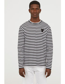 Striped Jersey Shirt by H&M