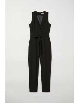 Jumpsuit With A Tie Belt by H&M
