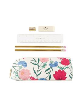 Blossom Faux Leather Pencil Case by Kate Spade New York