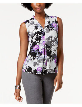 Floral Print Shell by Nine West
