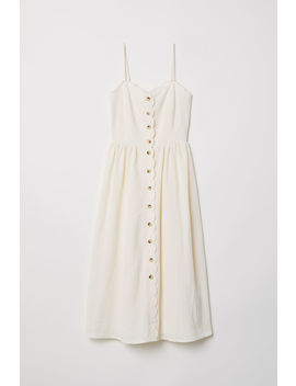 Button Front Dress by H&M