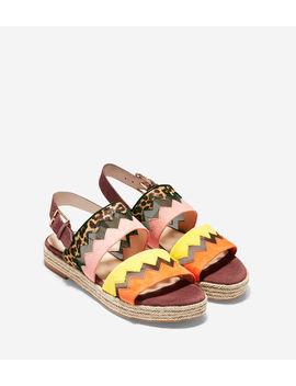 Emilia Espadrille Flat Sandal by Cole Haan