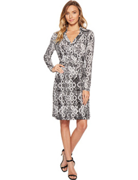 Pattern Wrap Dress by Romeo & Juliet Couture