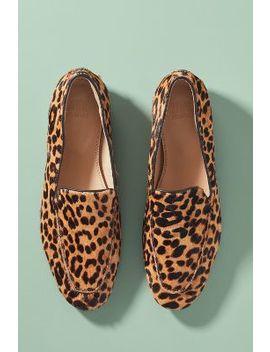 Maruti Leopard Print Slip On Flats by Maruti