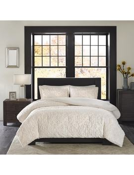 Madison Park Syracuse Ivory Ultra Plush Comforter Set by Madison Park