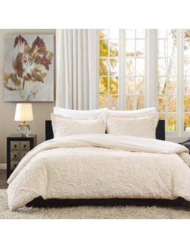 Madison Park Albany Ultra Plush Ivory 3 by Madison Park
