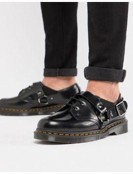 Dr Martens Fulmar Shoes In Black by Dr Martens