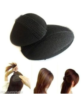 Hot Womens Hair Tools Bump Puff Paste Princesses Head Shape Sponge Pad Device by Unbranded