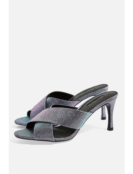 Spirit Cross Strap Mules by Topshop