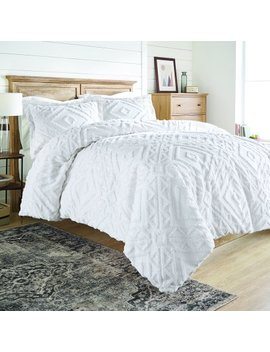 Better Homes And Gardens 3 Piece Chenille Comforter Cover Set by Better Homes & Gardens