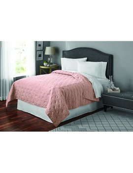 Mainstays Solid Kaleidoscope Bedding Quilt, Multiple Sizes And Colors Available by Mainstays