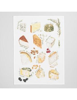 Fancy Cheese Board Kitchen Towel by World Market