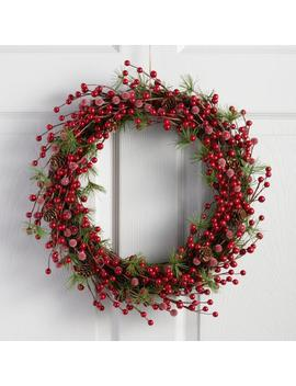 Pine And Berry Wreath by World Market