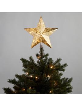 Gold Star Led Light Up Tree Topper by World Market
