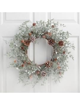 Faux Wild Pine Wreath by World Market