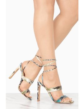 High Point   Snake by Lola Shoetique