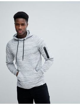 Only & Sons Hoodie With Technical Arm Pocket by Only & Sons