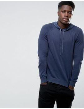 United Colors Of Benetton Knitted Hoodie by United Colors Of Benetton