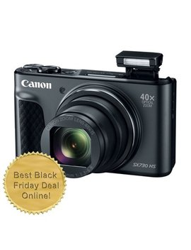 Canon Power Shot Sx730 20.3 Mp Wifi Digital Camera Black   Best Black Friday Deal by Teds