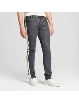 Men's Track Denim Stretched  Pants   Jackson™ Black by Jackson
