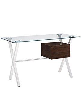 Modway Stasis Office Desk, Walnut by Modway