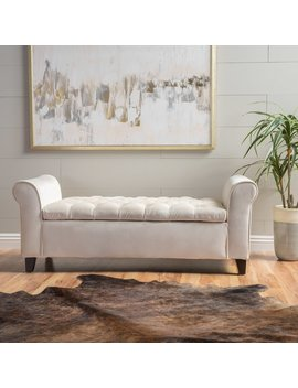 House Of Hampton Havelock Upholstered Storage Bench & Reviews by House Of Hampton