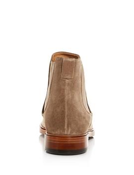 Men's Burroughs Suede Chelsea Boots by Vince