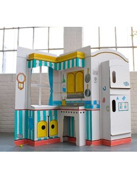 Build A Dream Playhouses Pop And Play Kitchen Playhouse by Build A Dream Playhouses