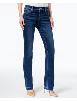 I.N.C. Curvy Fit 5 Pocket Bootcut Jeans, Created For Macy's by Inc International Concepts