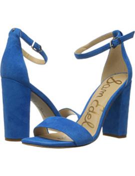 Yaro Ankle Strap Sandal Heel by Sam Edelman