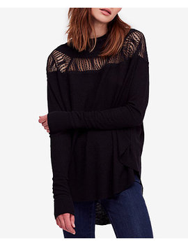 Spring Valley Lace Trim Top by Free People