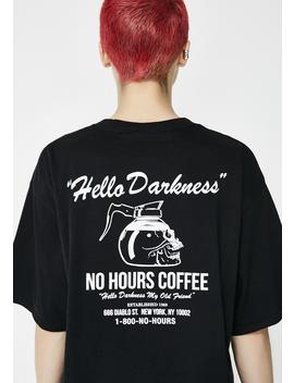 Darkness Short Sleeve Tee by No Hours