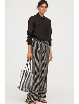 Striped Pull On Trousers by H&M