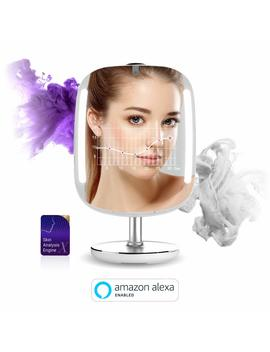 Hi Mirror Mini: Beauty Smart Mirror With Led Makeup Lights, Makeup Vanity Mirror With Touch Screen, Your... by Himirror