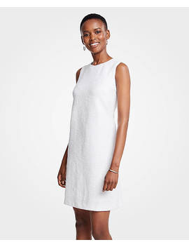 Textured Knit Shift Dress by Ann Taylor