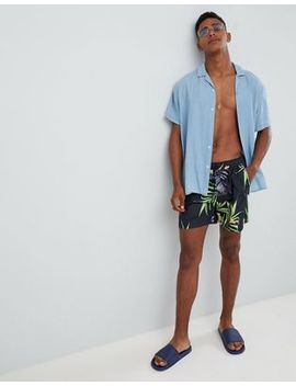 Bershka Swim Shorts In Tropical Print by Bershka