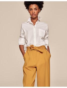 Classic White Cotton Shirt by Me+Em