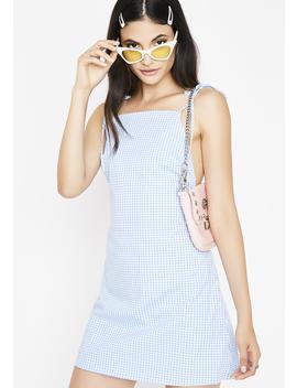 Sweetest Love Gingham Dress by Lux La