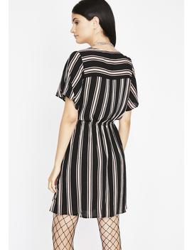 Lasting Friendships Stripe Dress by Latiste